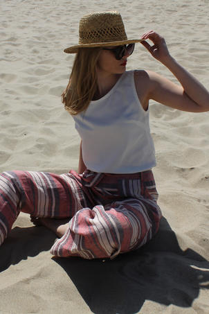 Be Compassionate Linen Trousers